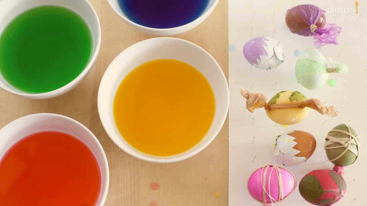 Comment colorer des œufs de Pâques ?