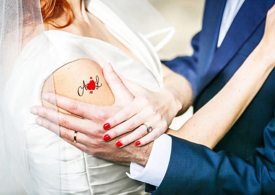 Des tatouages éphémères pour votre mariage ?