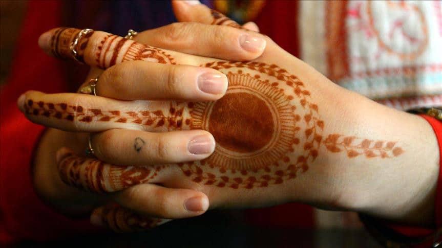 Le tatouage temporaire pour jeunes mariées