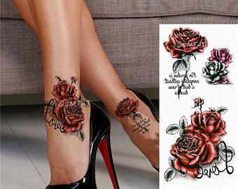 Pimentez votre mode d'automne avec des tatouages temporaires !
