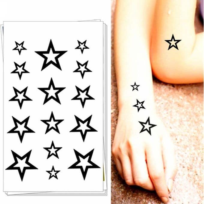 Le spectacle du CRAIC fait la promotion de son groupe avec des tatouages personnalisés