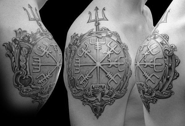 Tatouages temporaires des runes