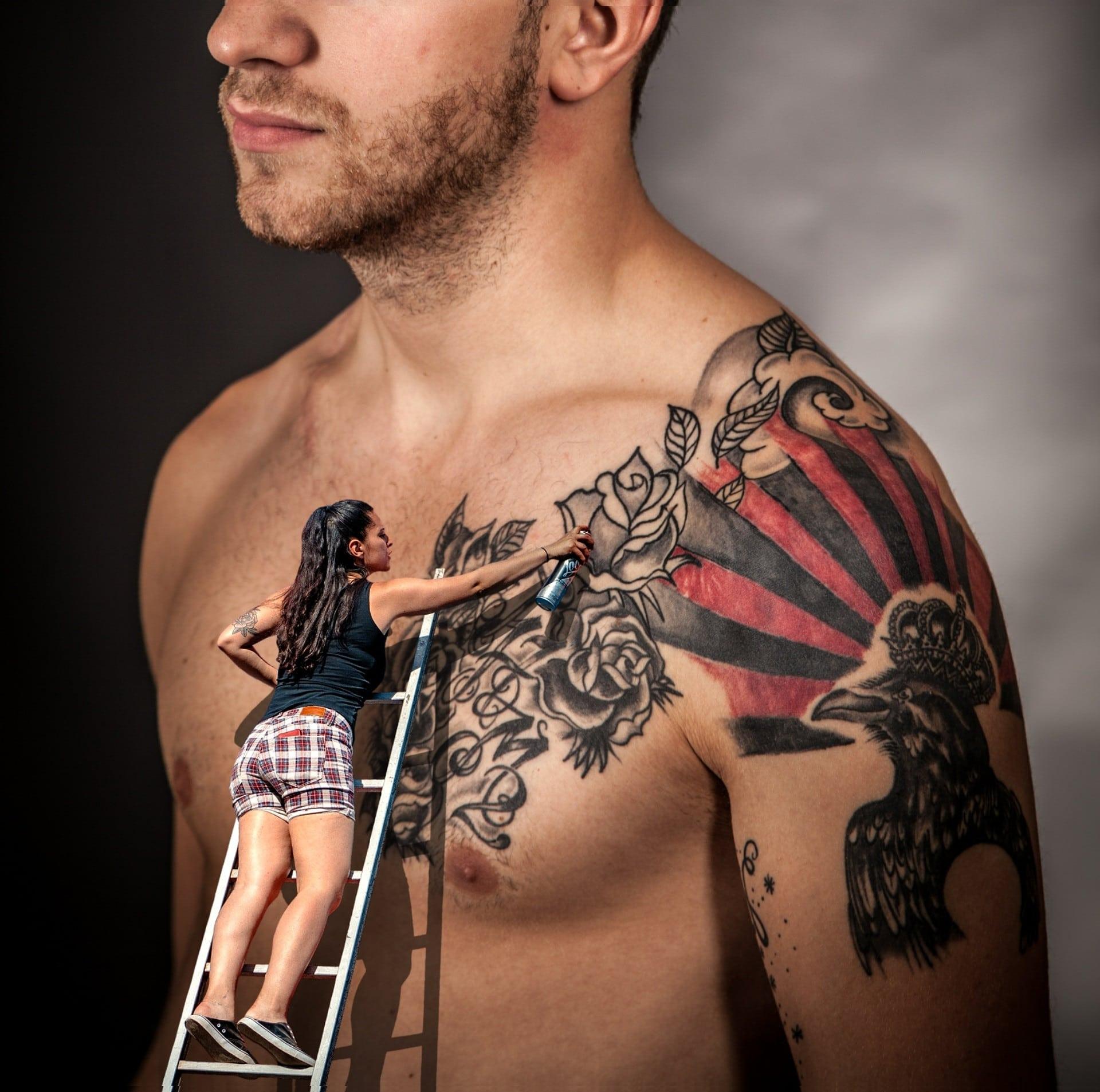 Comment faire tatouage ephemere ?