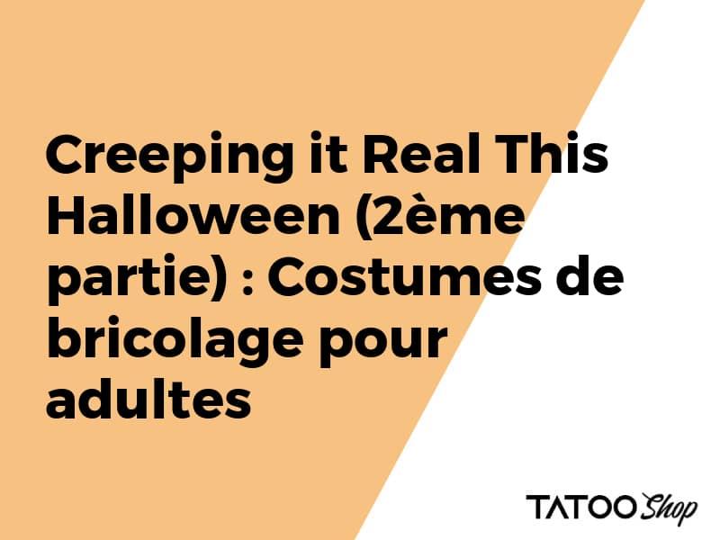 Halloween : Costumes de bricolage pour adultes