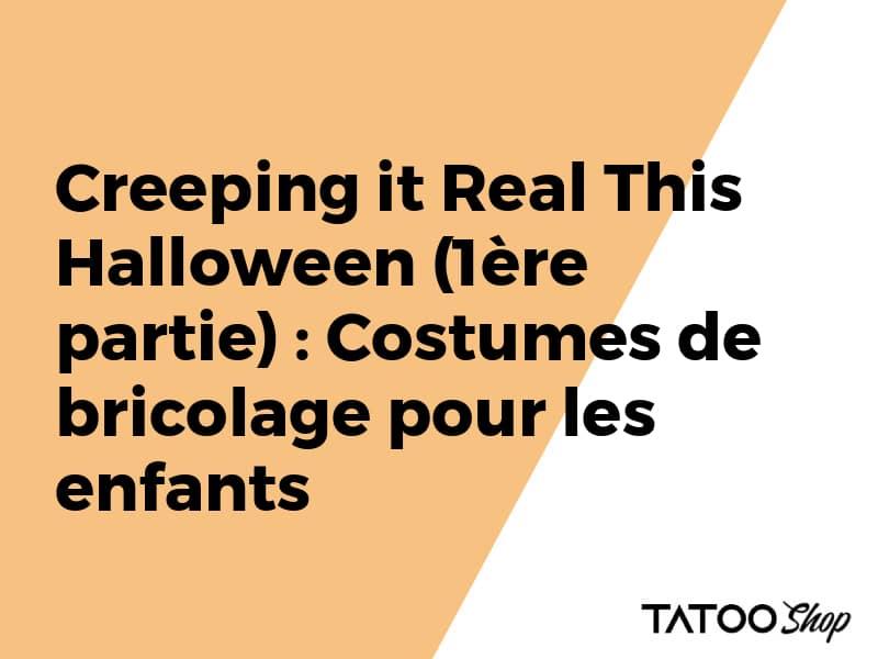 Halloween : Costumes de bricolage pour les enfants