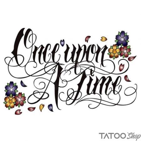 Tatouage ephemere once upon a time