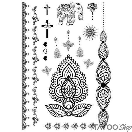 Tatouage ephemere tous les dieux
