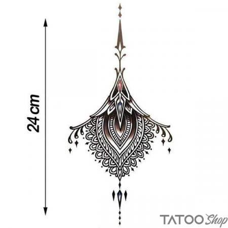 Tatouage ephemere bijoux underboob